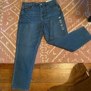American Eagle High Rise Mom Jeans NWT